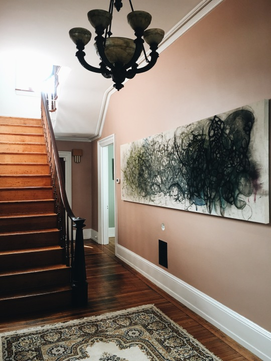 SGD Custom Painting in Entry Hall